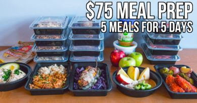 Lose Weight Market maxresdefault-390x205 $75 Epic Meal Prep 2016 - 5 meals for 5 days