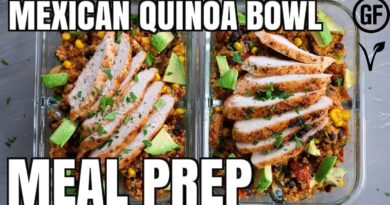 Lose Weight Market maxresdefault-33-390x205 Mexican Quinoa Bowl Meal Prep | What's for Din'? | Gluten Free | Vegan Option