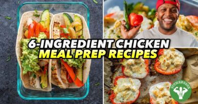 Lose Weight Market maxresdefault-18-390x205 Meal Prep - 3 Easy 6-Ingredient Chicken Recipes