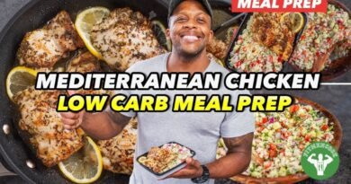 Lose Weight Market maxresdefault-13-390x205 Low Carb Meal Prep - Mediterranean Chicken And Tabbouleh
