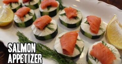 Lose Weight Market sddefault-6-390x205 Cucumber and Smoked Salmon Appetizer