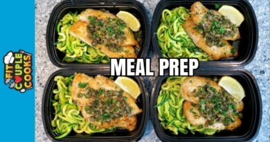 Lose Weight Market maxresdefault-29-390x205 How to Meal Prep - Ep. 59 - CHICKEN PICCATA - LOW CARB MEAL PREP