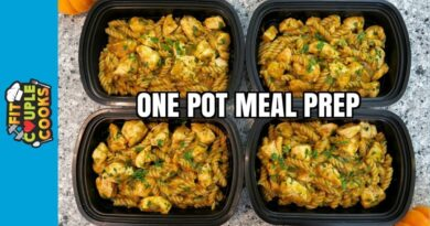 Lose Weight Market maxresdefault-49-390x205 How to Meal Prep - Ep. 61 - ONE POT CHICKEN PUMPKIN PASTA ($2.50/Meal)