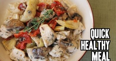 Lose Weight Market sddefault-5-390x205 Chicken with Sun Dried Tomatoes, Artichokes & Mushrooms