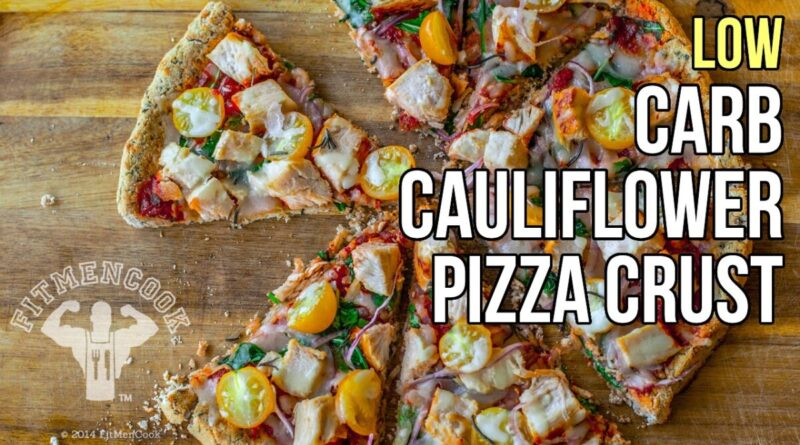 Lose Weight Market maxresdefault-50-800x445 How to Make Low-Carb Cauliflower Pizza Crust / Corteza de Pizza Hecha de Coliflor