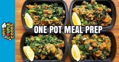 Lose Weight Market maxresdefault-73-390x205 How to Meal Prep - Ep. 67 - DAD'S SWEET POTATO, KALE & QUINOA - One Pot Meal Prep Recipe ($2/Meal)