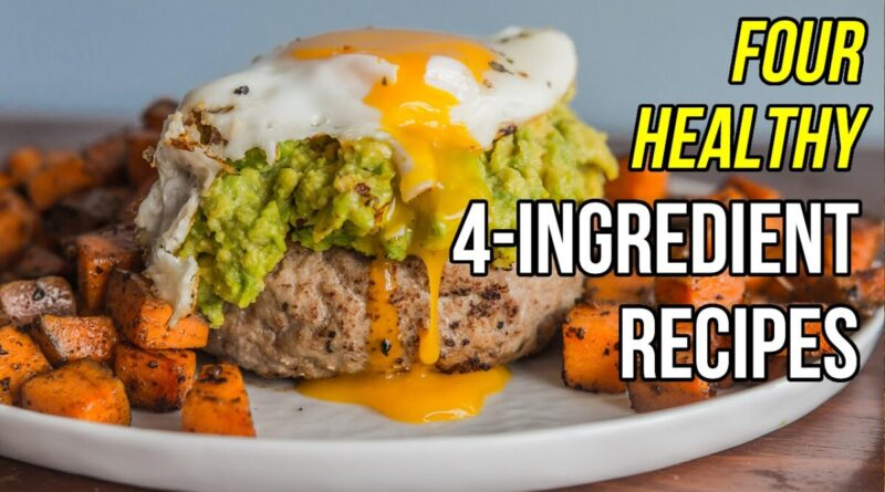 Lose Weight Market maxresdefault-800x445 Four Healthy 4-Ingredient Recipes / Cuatro Recetas con 4 Ingredientes