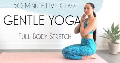 Lose Weight Market maxresdefault_live-1-390x205 LIVE Yoga Class - 30 Minute Gentle Morning Yoga Full Body Stretch