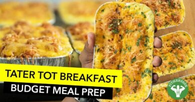 Lose Weight Market maxresdefault-107-390x205 College Budget Meal Prep - Easy Tater Tot Breakfast Casserole Recipe