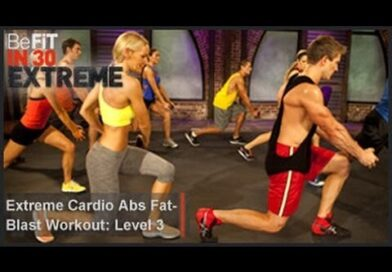 Lose Weight Market hqdefault-8-392x272 Extreme Cardio Abs Fat Blast Workout | Level 3- BeFit in 30 Extreme